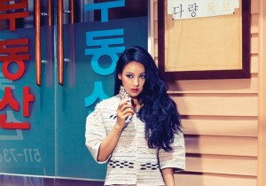 Retro Lee Hyo Ri Shows Off Her Sexy Charisma Through Cosmopolitan Photo Shoot -  June Issue