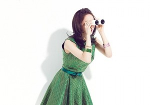KARA's Nicole Her Outfits In Green Color To Portray The Season of Spring