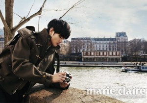 Chic & Classy Kim Soo Hyun In The Street of Paris, France!