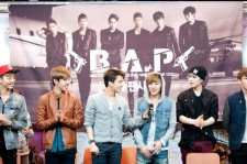 Six-piece K-pop group B.A.P. got some big league coverage on Friday for their