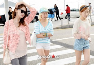 Flying In Style: Girls' Generation (SNSD) Looks Like Barbie Dolls As They Leaving For Promotion in Thailand