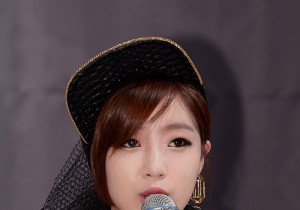 T-ARA N4 Eunjung Attends Press Conference Regarding U.S. Activities and Promotions - May 20, 2013