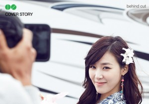 Girls' Generation Tiffany Models for 1st Look Magazine Behind The Scenes