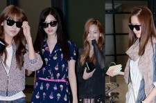 Flying In Style: Girls' Generation (SNSD) Returns to Korea From Thailand on May 22,2013
