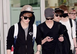 Teen Top(C.A.P, Chunji, L.Joe, Niel, Ricky, Changjo) Returns to Korea From '2013 Teen Top No.1 Asia Tour' In Kobe, Japan