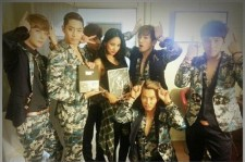 shinhwa picture with lee hyori