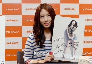 Park Shin Hye Opens Fan Autograph Meeting Model for Clothing Brand Jambangee - May 24, 2013