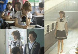 Girls' Generation(SNSD) Sooyoung's School Uniform Catching at Drama 'Cyrano Agency' Filming Site