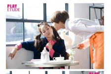 2NE1 Sandara & Tae Min Adorable Couple Look