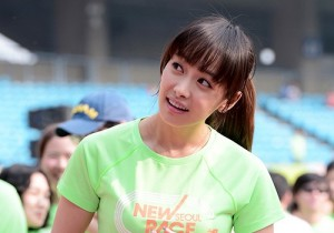 f(x) Victoria Attends The Sports Brand