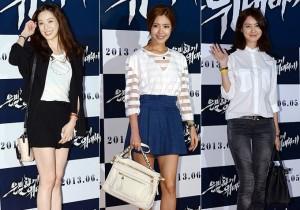 Jung Ryu Won, Lee Yoon Ji, Lee Yo Won Attend