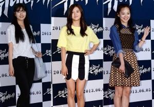 Suzy, Nam Bo Ra, Yoon Seung Ah Attend