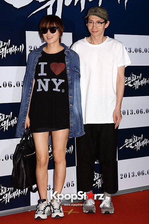 "Choi Kang Hee, Bong Tae Kyu Attend ""Secretly, Greatly"" VIP Premiere and Pose on Red Carpet - May 27, 2013key=>7 count10"
