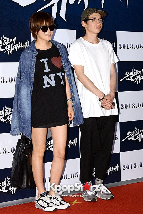 "Choi Kang Hee, Bong Tae Kyu Attend ""Secretly, Greatly"" VIP Premiere and Pose on Red Carpet - May 27, 2013key=>8 count10"
