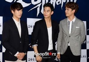 Kim Soo Hyun, Lee Hyun Woo and Park Ki Woong, Leading Actors For