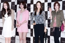 A-Pink's Son Na Eun, Jo Yoon Hee, Choi Yeo Jin, Hong Soo Ah Attend For Women Closing Brand