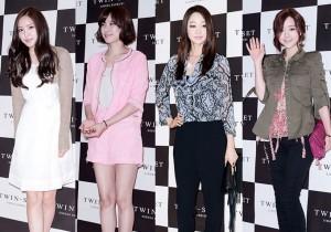 A-Pink's Son Na Eun, Jo Yoon Hee, Choi Yeo Jin, Hong Soo Ah Attend For Women Closing Brand