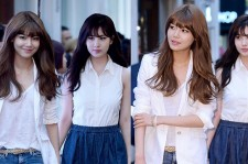 Girls' Generation(SNSD) Sooyoung, Seohyun Attend TOMMY HILFIGER