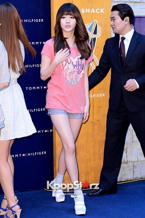 "Girls Day's Sojin, Yura, Minah, Hyeri Attend TOMMY HILFIGER ""Surf Shack"" Collectionkey=>3 count9"