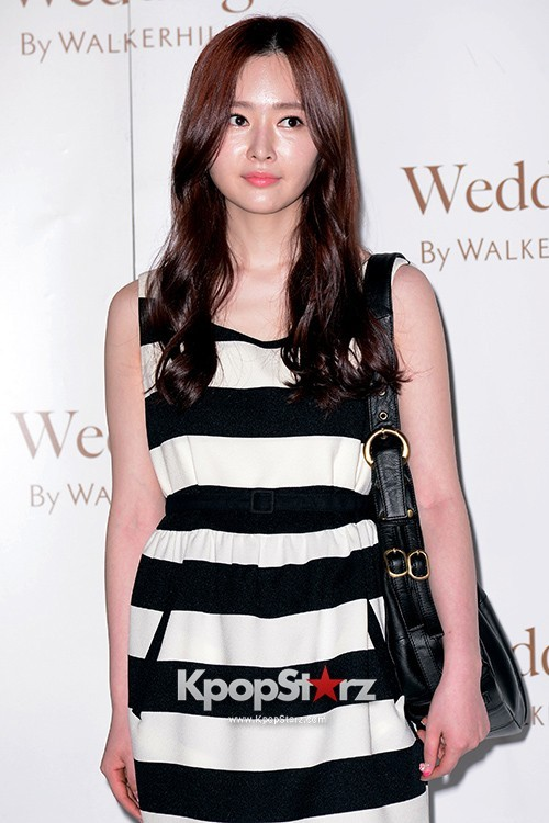 MayBee Attends as a Guest at Baek Ji Young & Jung Suk Won's Wedding on May 2, 2013key=>5 count6