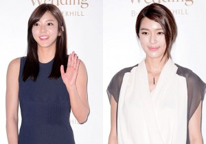 Son Dam Bi, Gahee Attend as a Guest at Baek Ji Young & Jung Suk Won's Wedding on May 2, 2013