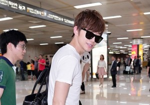 Airport Style: 2PM Junho Returns To Korea After Promotion For His 1st Solo Tour In Japan - June 5, 2013