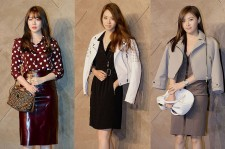 Yoon Eun Hye, Lee Yeon Hee, Ha Ji Won Attend BURBERRY Opening Ceremony on June 5, 2013