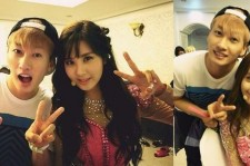 super junior eunhyuk pictures with yoona and seohyun