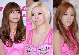 Sooyoung, Sunny, Taeyeon Attend Press Conference For Girls' Generation(SNSD) 2013 World Tour 'Girls& Peace' In Seoul