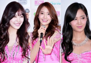 Tiffany, Yoona, Yuri Attend Press Conference For Girls' Generation(SNSD) 2013 World Tour 'Girls& Peace' In Seoul