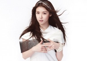 Actress Ha Ji Won Lovely White Look For Style Magazine 2013 June Issue