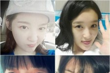 'No Makeup Vs. Full Makeup' Kang Min Kyung and f(x) Sulli