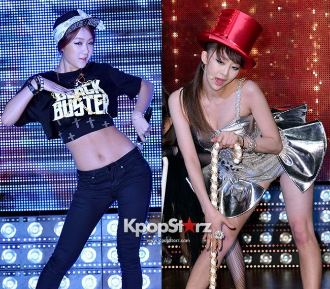 "Soyou, Dasom Perform at Sistar's Comeback Showcase ""Give It To Me"" on June 11, 2013key=>0 count31"