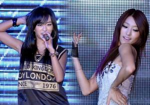 Hyorin, Bora Perform at Sistar's Comeback Showcase