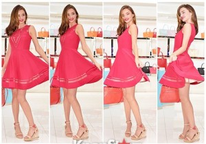Miranda Kerr Visits A Promotion Event In Hyundai Department In South Korea on June 12, 2013