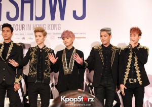 Super Junior at Super Show 5 in Hong Kong Press Conference [PHOTOS]