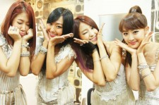 Four-piece girl group SISTAR took over the top five this week, earning the top three spots on the Billboard K-Pop Hot 100.