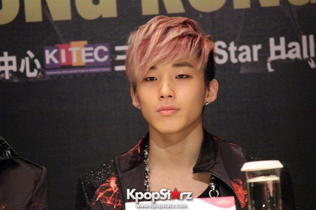 "B.A.P Jongup in ""Live on Earth"" in Hong Kong Press Conference [PHOTOS]key=>0 count11"