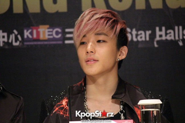 "B.A.P Jongup in ""Live on Earth"" in Hong Kong Press Conference [PHOTOS]key=>1 count11"