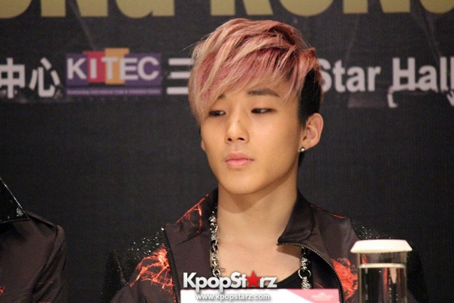 "B.A.P Jongup in ""Live on Earth"" in Hong Kong Press Conference [PHOTOS]key=>2 count11"