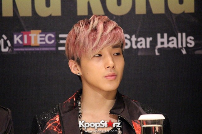 "B.A.P Jongup in ""Live on Earth"" in Hong Kong Press Conference [PHOTOS]key=>4 count11"