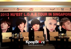 NU'EST Time With Singapore Press [PHOTOS]