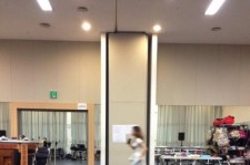 luna mopping musical practice room