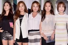 Kim Sa Rang, Kim So Eun, Jung Yoo Mi, Han Ji Min, Han Hyo Joo
