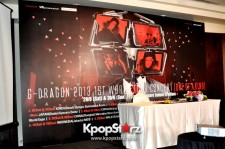 G-Dragon's 'One Of  A Kind' World Tour Concert Press Conference in Singapore [PHOTOS]