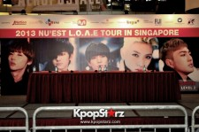 NU'EST Successfully Ends The Tour In Singapore With A Meet And Greet Cum Fansign Session [PHOTOS]