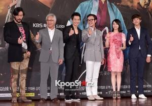 Choi Min Soo, Kim Young Chul, On Joo Wan, Um Tae Woong, Kim Ok Bin, Lee Jung Shin