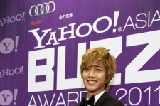 Hyunjoong at the Yahoo! Asia Buzz Awards 2011
