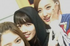 Suzy with EXID members!