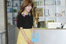 Third Hospital SooYoung Le Bunny Bleu Gold-Toned Oxfords